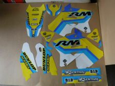 New RM 125 250 01-17 FLU PTS4 Graphics Sticker Decals Kit 02 03 04 05 06 07 08